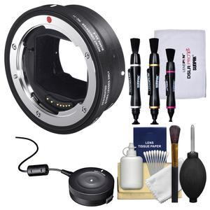 Sigma MC-11 Mount Converter - Canon EOS EF to Sony Alpha E-Mount - with USB Dock + Cleaning Kit