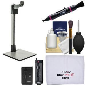 Smith-Victor 36 inch CS36 Pro-Duty Copy Stand with Shutter Release Remote + Cleaning Kit