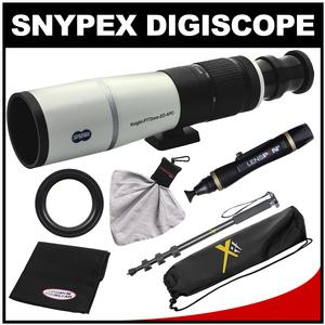 Snypex Knight PT 72mm ED APO Photography Digi-Scope with Hard Case with Monopod and Nikon T Mount and LensPen Cleaning Kit