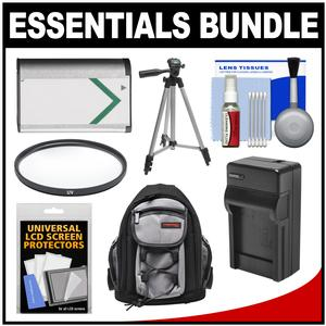 Essentials Bundle for Sony Cyber-Shot DSC-H400 DSC-HX350 and DSC-HX400V Digital Camera with Backpack + NP-BX1 and Charger + Tripod + Filter Kit