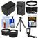 Essentials Bundle for Sony Handycam HDR-PJ540, HDR-PJ670 & HDR-PJ810 Camcorders with LED Light + NP-FV70 Battery & Charger + Flex Tripod + 2 Tele/Wide Lens Kit