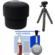 Essentials Bundle for Sony ILCE-QX1 & Cyber-Shot DSC-QX30 Smartphone Lens-Style Camera with Case + Tripod + Accessory Kit