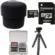Essentials Bundle for Sony ILCE-QX1 & Cyber-Shot DSC-QX30 Smartphone Lens-Style Camera with 32GB Card + Case + Tripod + Kit