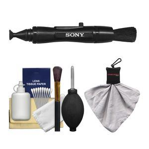 Sony LensPen Camera Lens Cleaner with Microfiber Cloth + Cleaning Kit