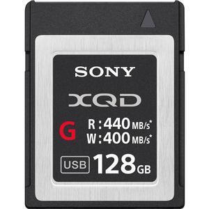 Sony 128GB G Series XQD Flash Memory Card Read 440MB-S Write 400MB-S