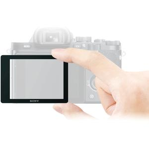 Sony PCK-LM16 Semi-Hard Sheet LCD Screen Protector for Alpha A7 A7R & A7S Camera