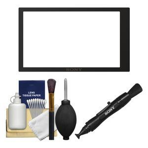 Sony PCK-LM17 Semi-Hard Sheet LCD Screen Protector for Alpha A6000 and A6300 Camera with LensPen and Cleaning Kit