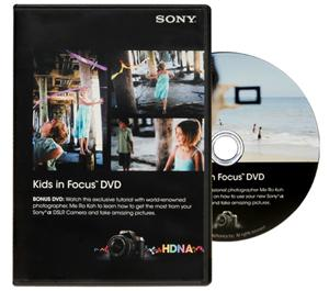 Sony Kids in Focus Get the Most from Your Alpha DSLR Camera Instructional DVD