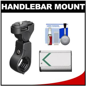 Sony VCT-HM1 Action Cam Handlebar Mount with NP-BX1 Battery + Cleaning Kit