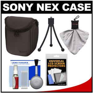 Review Sony LCS-BBF Soft Digital Camera Case for NEX Digital Cameras (Black) with Accessory Kit Before Special Offer Ends