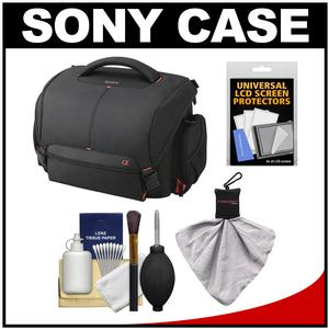 Take Offer Sony LCS-SC21 Soft Digital SLR Camera Carrying Case with Cleaning Kit Before Too Late