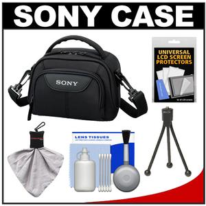 Get Sony LCS-VA15 Carrying Case for Handycam Camcorders (Black) with Cleaning Accessory Kit Before Too Late