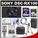 Sony Cyber-Shot DSC-RX100 Digital Camera (Black) with 64GB Card + Case + Battery + Charger + Flash + Tripod + Accessory Kit