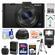 Sony Cyber-Shot DSC-RX100 II Wi-Fi Digital Camera (Black) with 64GB Card + Battery & Charger + Case + Flash + Tripod + Accessory Kit