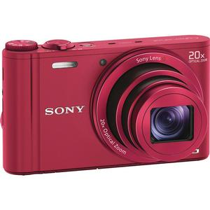 Sony Cyber-Shot DSC-WX300 Digital Camera (Red) at Sears.com