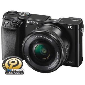 Sony Alpha A6000 Wi-Fi Digital Camera & 16-50mm Lens (Black)