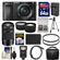 Sony Alpha A6000 Wi-Fi Digital Camera & 16-50mm Lens (Black) with 55-210mm Lens + 64GB Card + Case + Flash + Battery/Charger + Tripod Kit