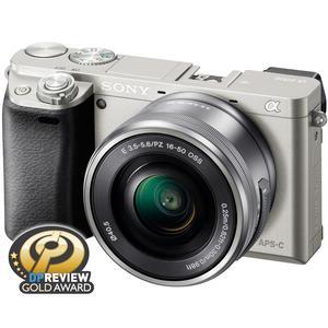 Sony Alpha A6000 Wi-Fi Digital Camera & 16-50mm Lens (Silver)