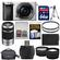 Sony Alpha A6000 Wi-Fi Digital Camera & 16-50mm Lens (Silver) with 55-210mm Lens + 64GB Card + Case + Battery + Tripod + Tele/Wide Lens Kit