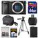 Sony Alpha A6000 Wi-Fi Digital Camera Body (Black) with 64GB Card + Case + Battery + Tripod + Accessory Kit