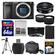 Sony Alpha A6000 Wi-Fi Digital Camera Body (Black) with 20mm f/2.8 Lens + 64GB Card + Case + Battery + Tripod + Tele/Wide Lens Kit
