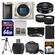 Sony Alpha A6000 Wi-Fi Digital Camera Body (Silver) with 20mm f/2.8 Lens + 64GB Card + Case + Battery + Tripod + Tele/Wide Lens Kit