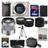 Sony Alpha A6000 Wi-Fi Digital Camera Body (Silver) with 50mm f/1.8 OSS Lens + 64GB Card + Case + Battery + Tripod + Tele/Wide Lens Kit
