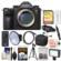 Sony Alpha A9 Wi-Fi 4K Digital Camera Body with 128GB Card + Case + Video Light & Microphone + Tripod + Remote Kit
