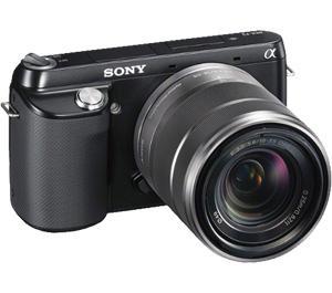Sony Alpha NEX-F3 Digital Camera Body and E 18-55mm OSS Lens (Black)