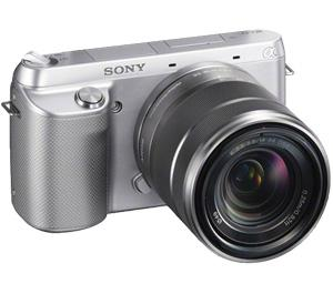 Sony Alpha NEX-F3 Digital Camera Body and E 18-55mm OSS Lens (Silver)