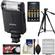 Sony Alpha HVL-F20M External Flash with Batteries & Charger + Tripod + Accessory Kit