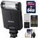 Sony Alpha HVL-F20M External Flash with 64GB Card + Batteries & Charger + Accessory Kit