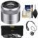 Sony Alpha E-Mount E 30mm f/3.5 Macro Lens with 3 UV/FLD/PL Filters with Cleaning Kit