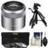 Sony Alpha E-Mount E 30mm f/3.5 Macro Lens 3 UV/FLD/PL Filters + Macro Tripod + Cleaning Kit
