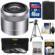 Sony Alpha E-Mount E 30mm f/3.5 Macro Lens with 16GB Card + NP-FW50 Battery + 3 UV/FLD/PL Filters + Tripod + Cleaning Kit