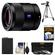 Sony Alpha E-Mount Sonnar T* FE 55mm f/1.8 ZA Lens with NP-FW50 Battery + 3 UV/CPL/ND8 Filters + Tripod + Kit