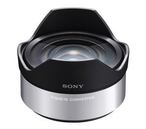 Sony VCL-ECF1 .62x Fisheye Converter Lens for Alpha NEX E-Mount 16mm f/2.8 Lens