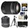 Sony Alpha A-Mount 55-200mm f/4-5.6 DT SAM Zoom Lens with Tripod + 3 UV/ND8/CPL Filters + Accessory Kit