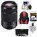 Sony Alpha A-Mount 55-300mm f/4.5-5.6 DT SAM Zoom Lens with 3 UV/CPL/ND8 Filters + Backpack Case + Accessory Kit