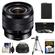Sony Alpha E-Mount 10-18mm f/4.0 OSS Wide-angle Zoom Lens with Battery + Case + 3 UV/CPL/ND8 Filters + Tripod + Kit
