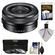 Sony Alpha E-Mount 16-50mm f/3.5-5.6 OSS PZ Zoom Lens with 3 (UV/CPL/ND8) Filters + Accessory Kit