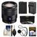 Sony Alpha E-Mount Vario-Tessar T* 16-70mm f/4.0 ZA OSS Zoom Lens with Battery & Charger + 3 UV/ND8/CPL Filters + Accessory Kit