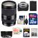 Sony Alpha E-Mount E 18-200mm f/3.5-6.3 LE OSS Zoom Lens with 32GB Card + Battery + Case + 3 UV/CPL/ND8 Filters + Accessory Kit
