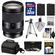 Sony Alpha E-Mount E 18-200mm f/3.5-6.3 LE OSS Zoom Lens with Sony Case + 32GB Card + 3 Filters + 2 NP-FW50 Batteries + Tripod + Kit