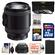Sony Alpha E-Mount 18-200mm f/3.5-6.3 OSS PZ Zoom Lens with 32GB Card + Battery + Case + 3 Filters + Kit