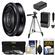 Sony Alpha E-Mount 20mm f/2.8 Wide-Angle Pancake Lens with 3 Filters + Tripod + NP-FW50 Battery & Charger + Kit