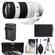 Sony Alpha E-Mount FE 70-200mm f/4.0 G OSS Zoom Lens with Battery & Charger + Tripod + Accessory Kit