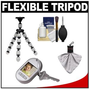 Vidpro GP-22 Gripster II Flexible Digital SLR Camera Tripod with Cleaning Kit