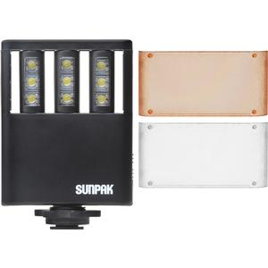 Sunpak Ultra Slim LED 9 Video Light with 2 Diffusers