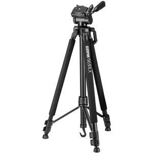 Sunpak 6630LX 66 inch Photo / Video Tripod with Adapters for Smartphones and GoPro